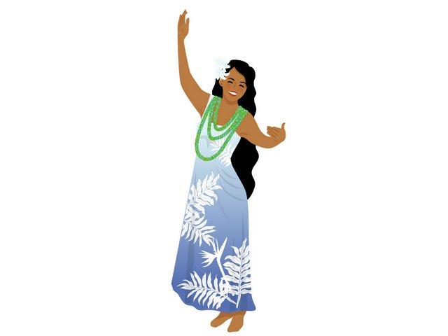 フラダンスのステップ「レレウエヘ」の踊り方