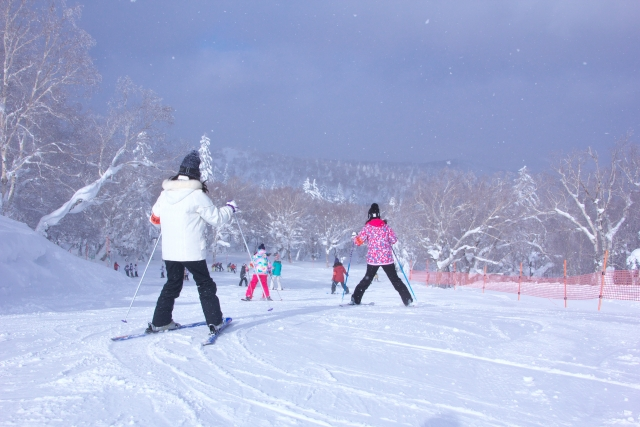 外足の役割 スキーの滑り方