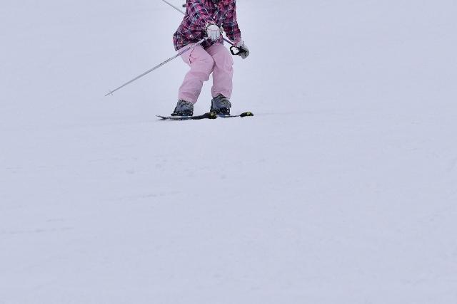 気を付けたいスキーの姿勢≪前傾≫|スキーの滑り方