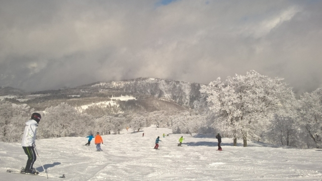 山足・谷足を意識する|スキーの滑り方