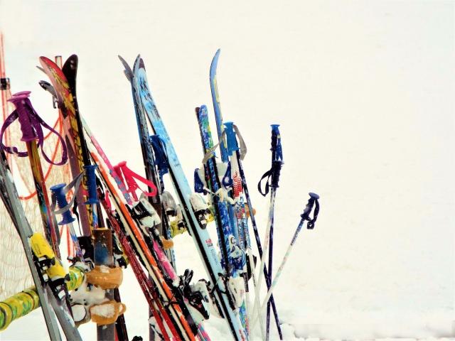 スキー用具の選び方と種類