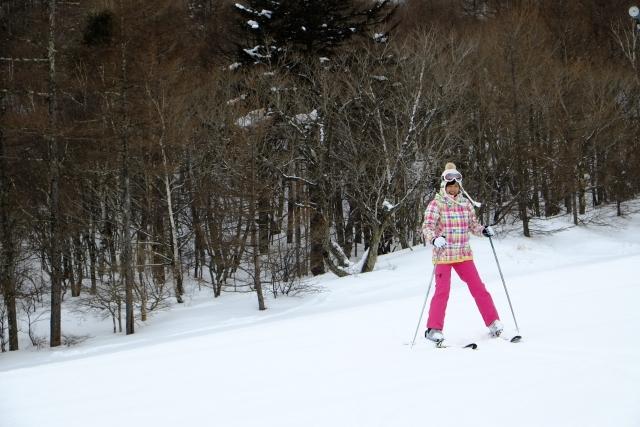 基本姿勢のとり方 | スキーの基本