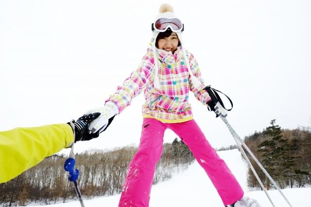 気を付けたいスキーの姿勢≪後傾≫|スキーの滑り方