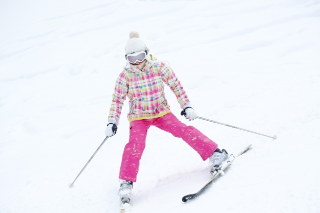重心移動について|スキーの滑り方