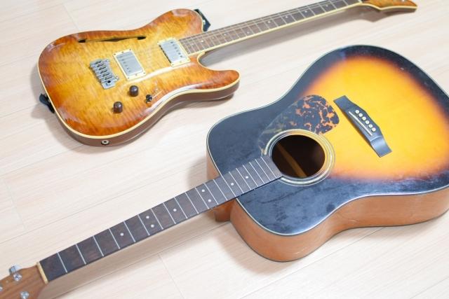 これだけは知っておきたいギターの種類と特徴