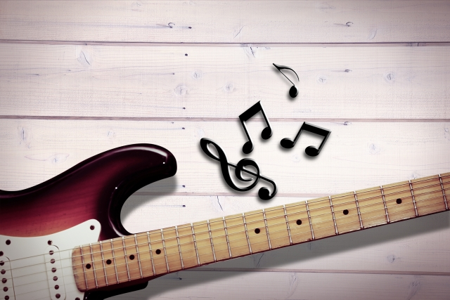 エレキギターのハーモニクスのやり方