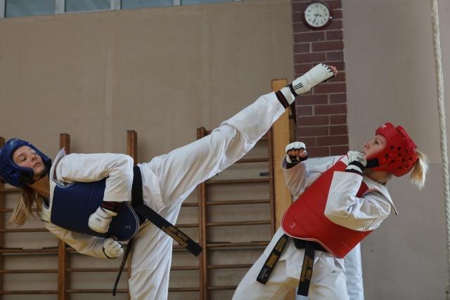 後ろ蹴りのやり方とコツ   テコンドーが上達する練習方法