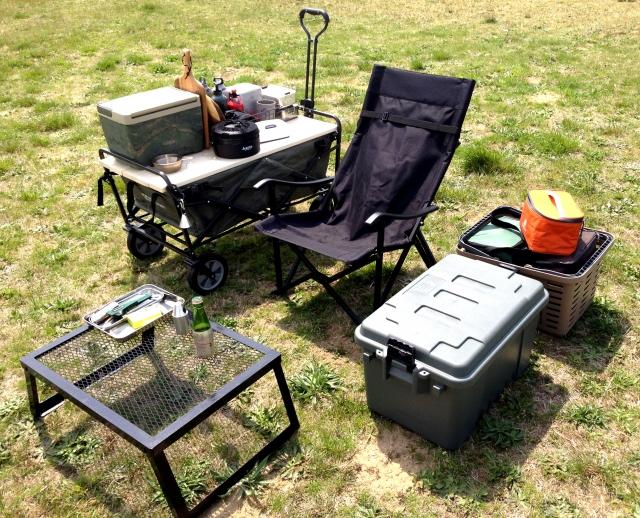 デイキャンプをもっと楽しくする必需品たち
