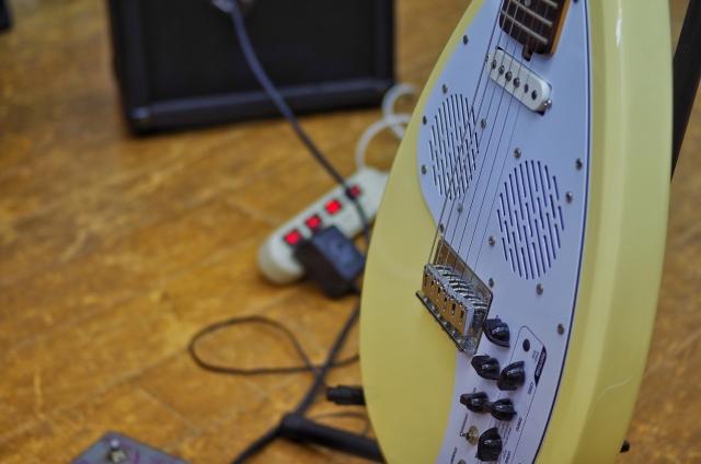 エレキギターのアンプの使い方
