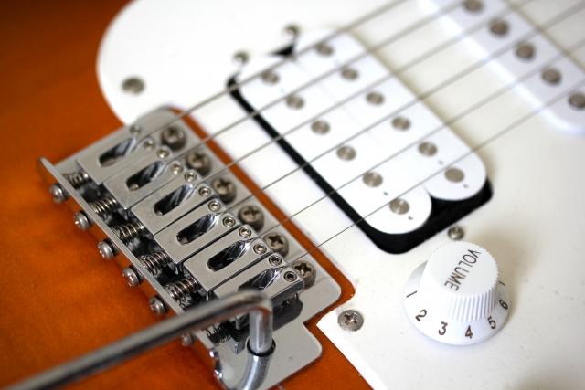 エレキギターのブリッジの種類