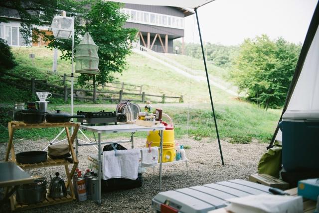 調理しやすいキッチンの作り方|キャンプの基本