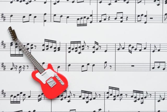 エレキギターのアルペジオの弾き方