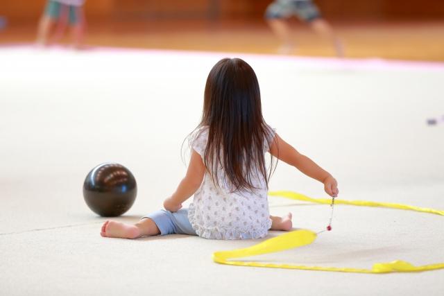 新体操を子供に習わせる効果