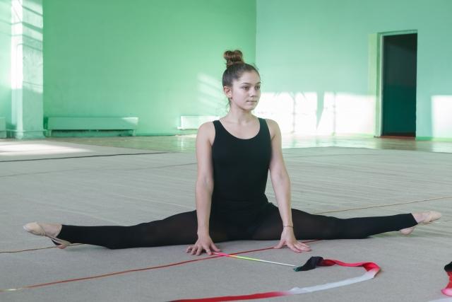 新体操が上達する家でできる柔軟のやり方