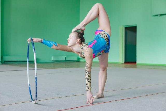 アチチュードのやり方 | 新体操が上達する方法