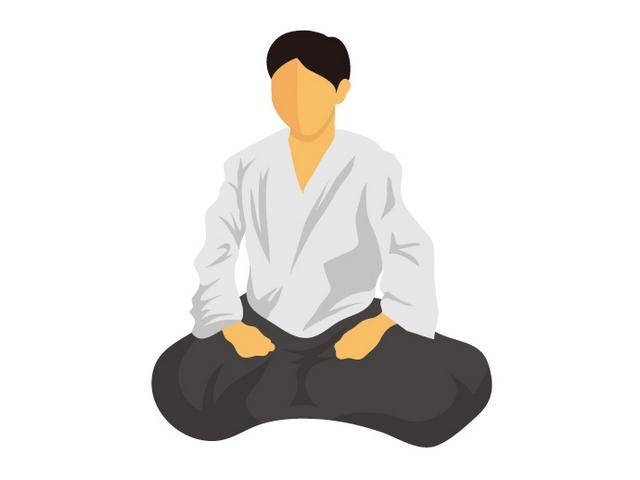 膝行のやり方 | 合気道の基本