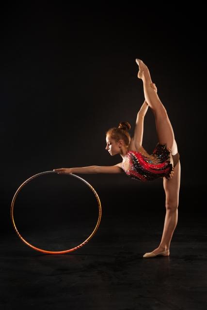 MGバランスのやり方   新体操が上達する方法