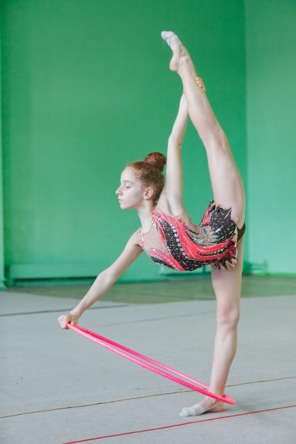新体操のバックルが上達する練習方法