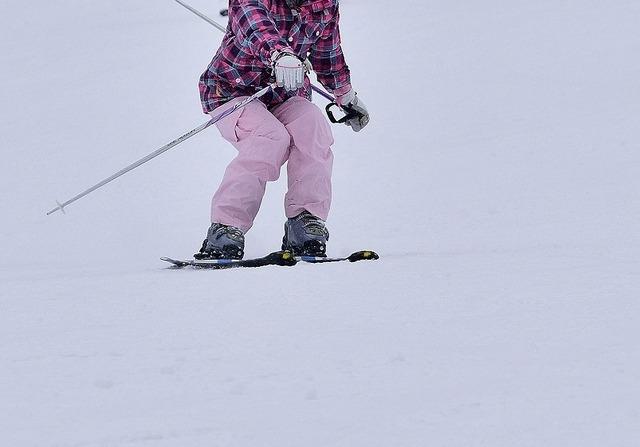 内傾姿勢の直し方 | スキーの滑り方