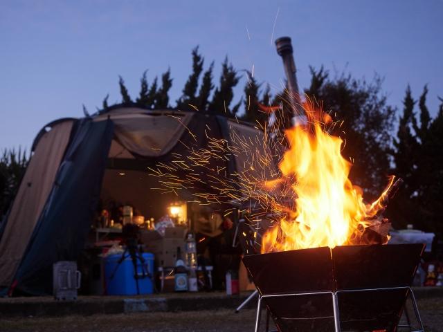 寒さ対策について   キャンプの基本