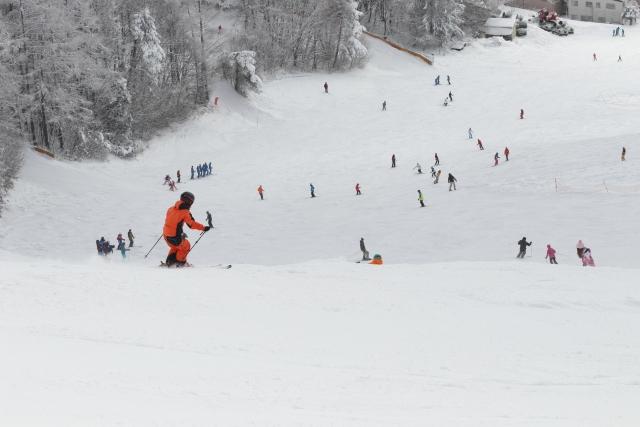 ロングターンのやり方とコツ | スキーの滑り方