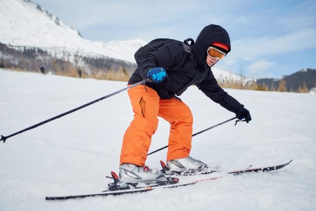 急停止のやり方 | スキーの滑り方