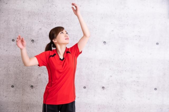 スパイクの空中姿勢について | 趣味のバレーボール