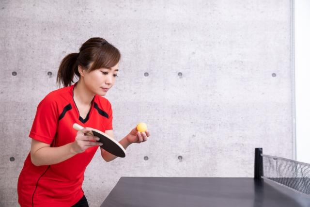 フリックの基本的なやり方 | 趣味の卓球