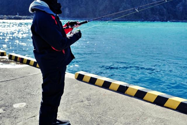 堤防でのチョイ投げ釣りの基本的な釣り方