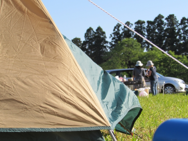 オートキャンプ場でのテントサイトの選び方
