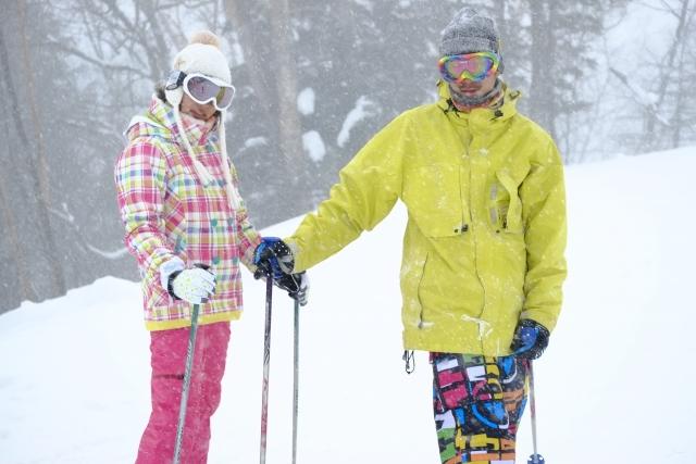 中級者から上級者になるためのスキー板の踏み方