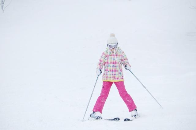 スキーでのストックの使い方