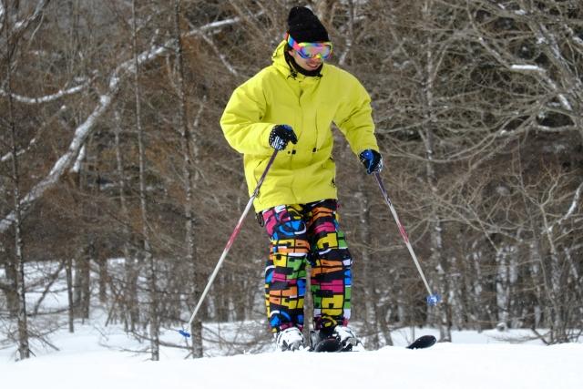 スキーにおいての回転のポイント