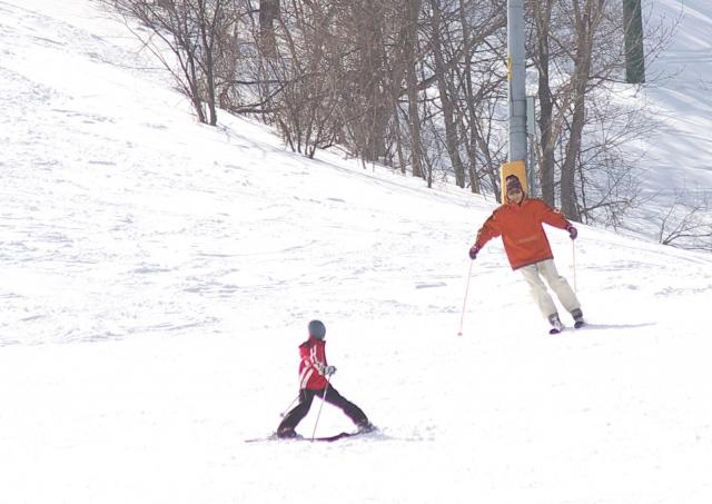 外向姿勢の直し方 | スキーの滑り方