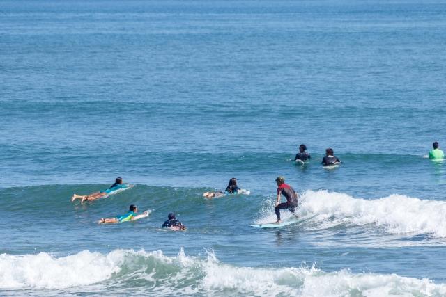 安全でスマートなライディングの終わり方 趣味のサーフィン