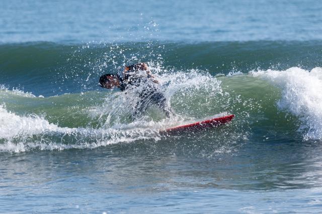 サーフィン初心者がパーリングしてしまう原因と対策