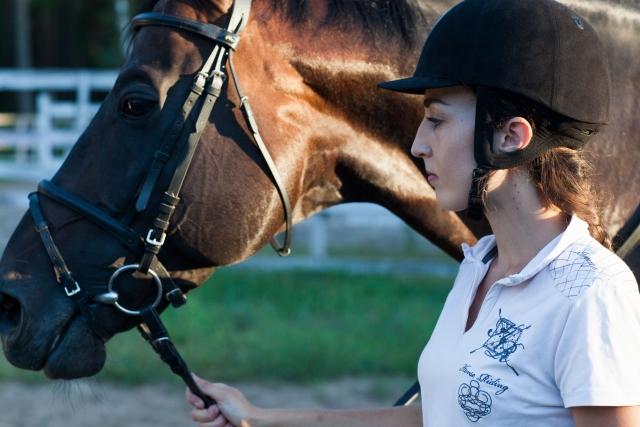 乗馬馬のスムーズな曳き馬のやり方 | 乗馬前の準備