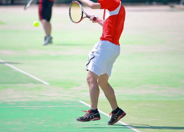 ジャンピングショットの打ち方 | 趣味のテニス