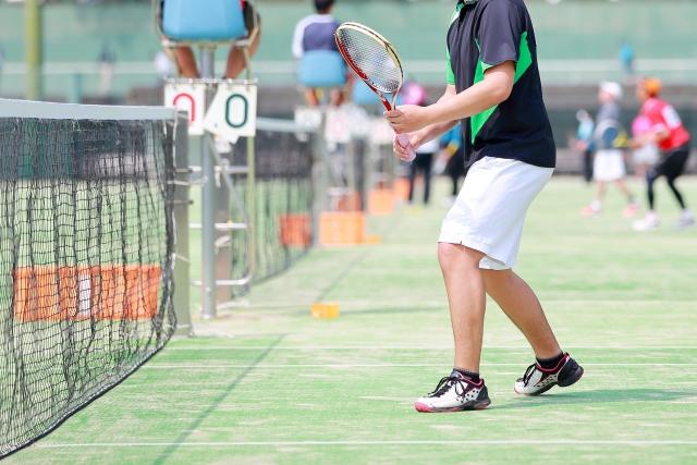 フォアハンドボレーの基本 | 趣味のテニス