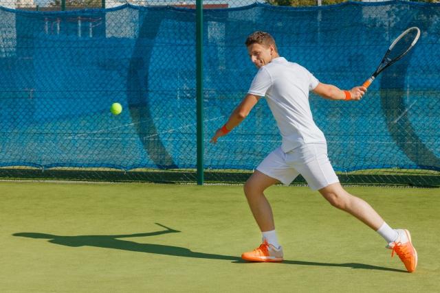 フォアハンドストロークの基本 | 趣味のテニス