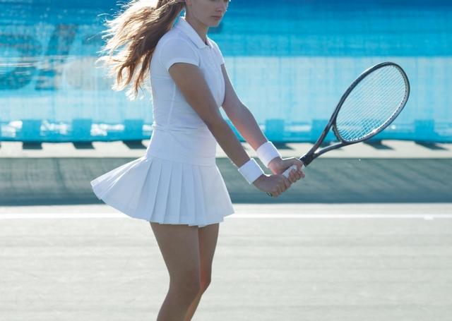 両手持ちバックハンドボレーの基本 | 趣味のテニス