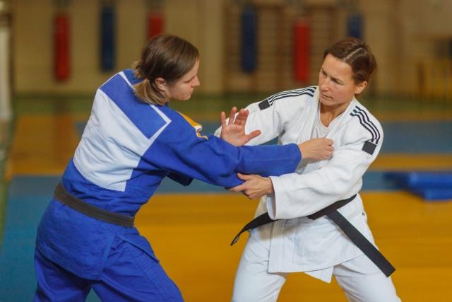 基本姿勢の取り方|柔道の基本動作