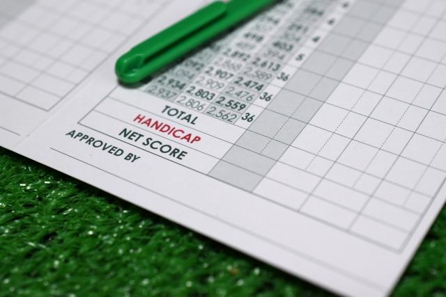 ゴルフプレーの仕方とスコアのつけ方