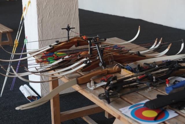 弓の組み立て方 アーチェリーが上達する方法