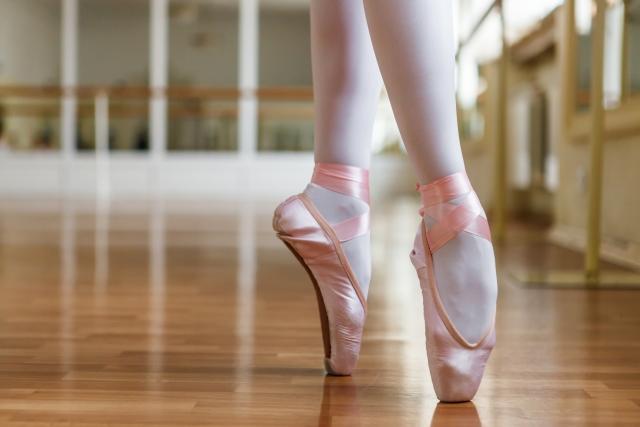 40代後半から50代前半で始めるバレエのトウシューズについて