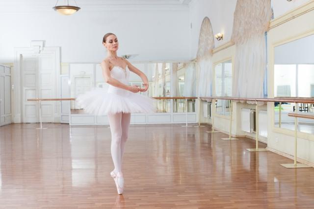 ススのやり方 | バレエのポアント練習