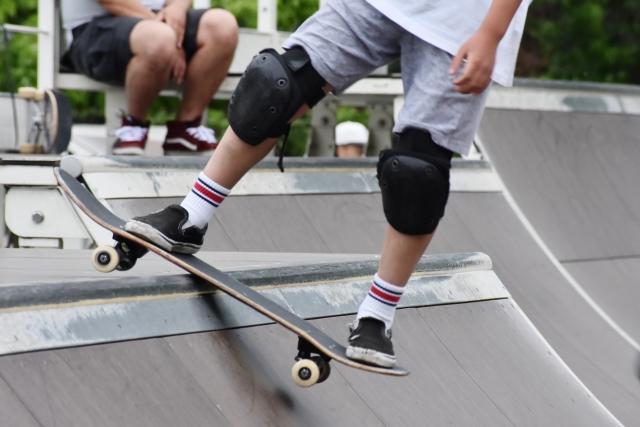 安全な転び方|スケートボードの乗り方