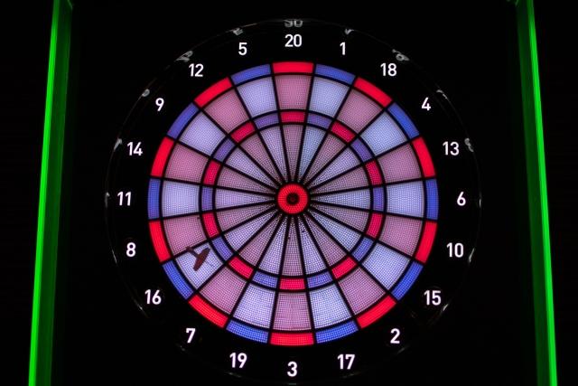 カウントアップの遊び方と基本的な戦略   ダーツのゲーム