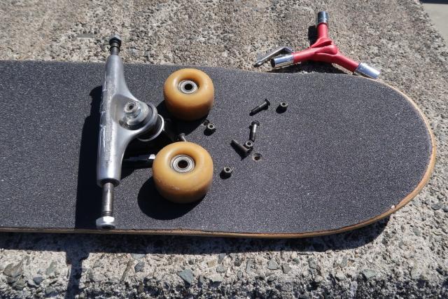 デッキの組み方|スケートボードの基本