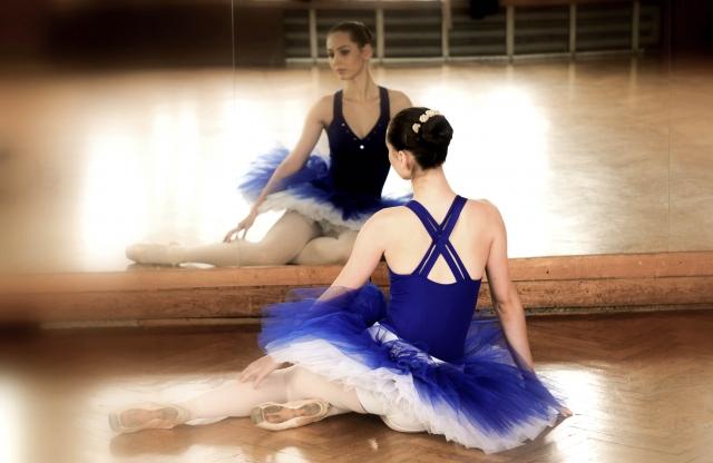 バレエで使う筋肉について